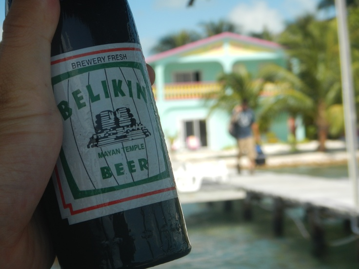 Caye Caulker, Belize - ending every day in a hammock with a Belikin Beer = paradise