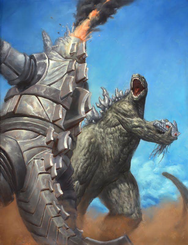 Godzilla vs. MechaGodzilla, no mechagodzilla you can't play with that