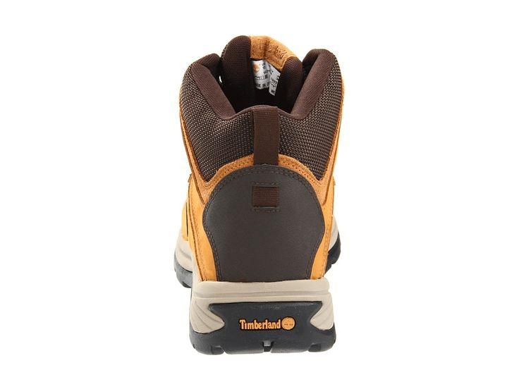 Timberland White Ledge Mid Waterproof Men's Hiking Boots Wheat