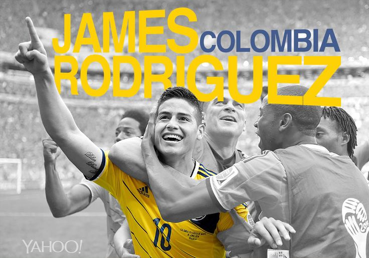 James Rodríguez, Colombia: For a while now, his career has been on the up and up. After three solid seasons at Porto, the twenty-two-year-old playmaker earned a big money move to Monaco. At the World Cup, his Man of the Match performance against Greece included two assists and a last-minute goal. In the game with Japan he turned a Japanese defender inside and out, leaving the hapless guy on the grass, before sublimely chipping over the 'keeper.