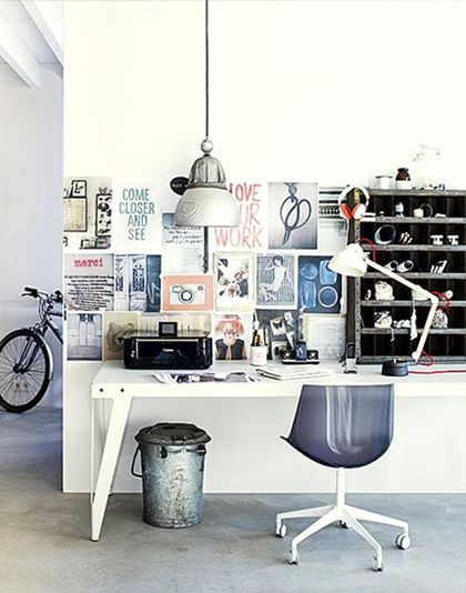 great desk spaceBathroom Design, Modern Bathroom, Offices Spaces, Interiors Design, Work Spaces, Workspaces, Home Offices, Design Bathroom, Design Offices