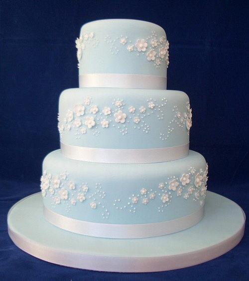 Light Blue Wedding Cake | Wedding Cake Brainstorming ...