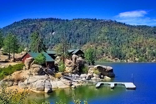 The Chalets by Lake | Cabins on leased U.S. Forest Servicelands along North Shore of Big ...