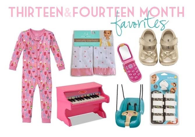 Thirteen & Fourteen Month Favorites   Little Baby Garvin