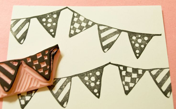Bunting Embellishment Stamp