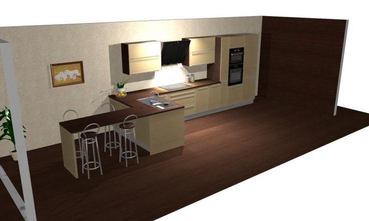 17 beste idee n over lange smalle keuken op pinterest smal kookeiland kleine kookeilanden en - Smalle keuken ...