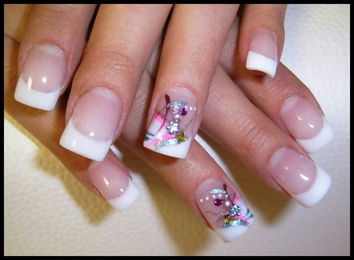 88 best nail art french manicure images on Pinterest | Nail scissors ...