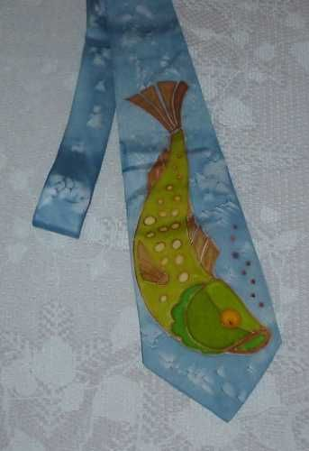 kravata pro rybáře