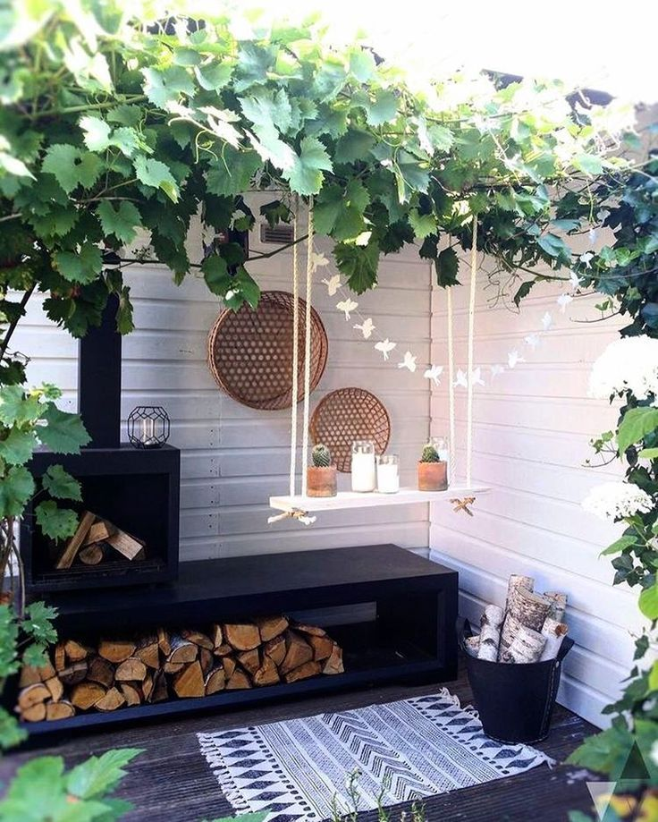 Outdoor envy || The prettiest space