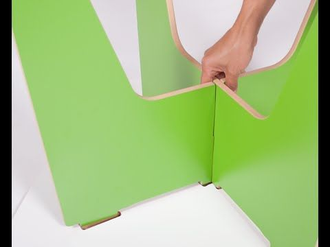 sprout modern kids table assembly youtube