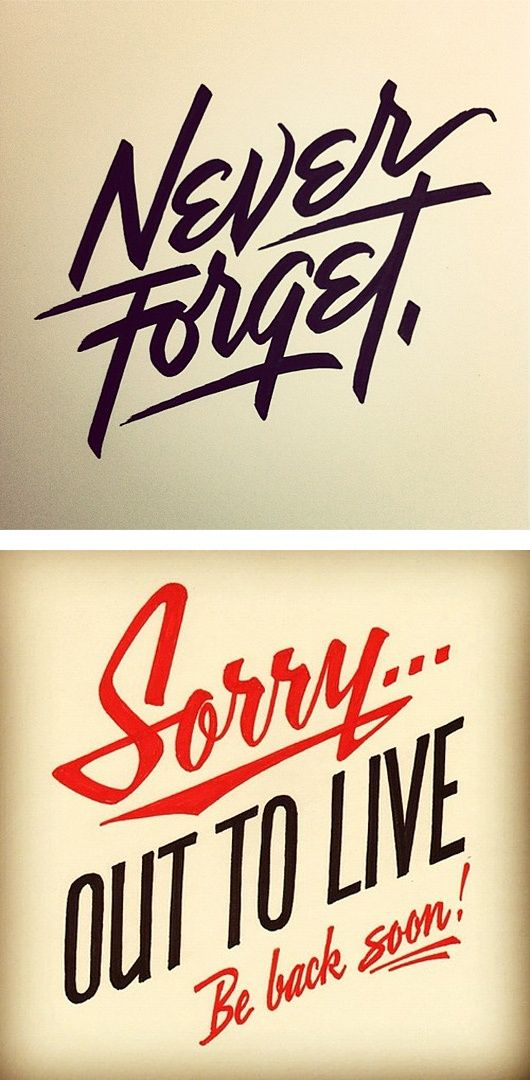 Typography inspiration | #603 | From up North