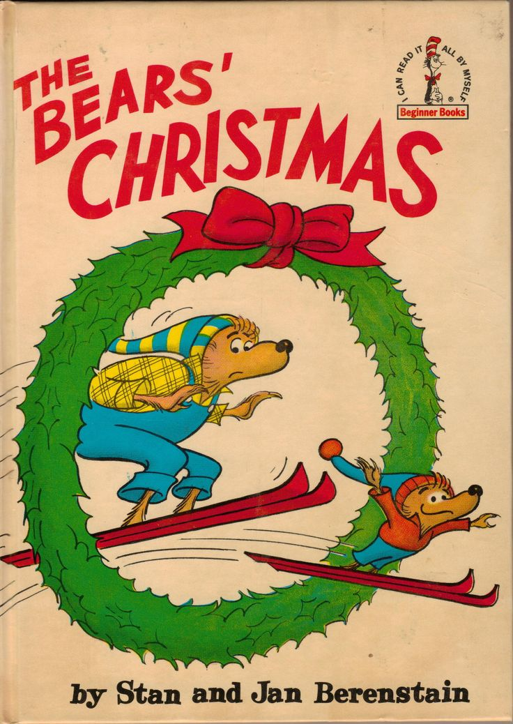 The Bears Christmas Stan Berenstain Jan Oh I Had Forgotten About These Guys This Came From Davids Childhood