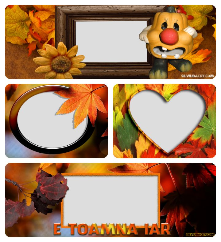 Autumn frame facebook covers | silviubacky