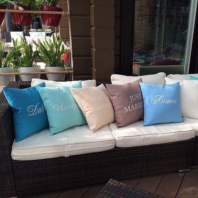 Именные подушки на свадьбу по заказу @floristfomina #pillow#подушки#pillows#campolino#vintage#provance#лён#flax#linen#artshop#interior#интерьер#decor#restaurant#cafe#hotel#свадьба#wedding#beauty#эко#design#печатьнаткани#moscow