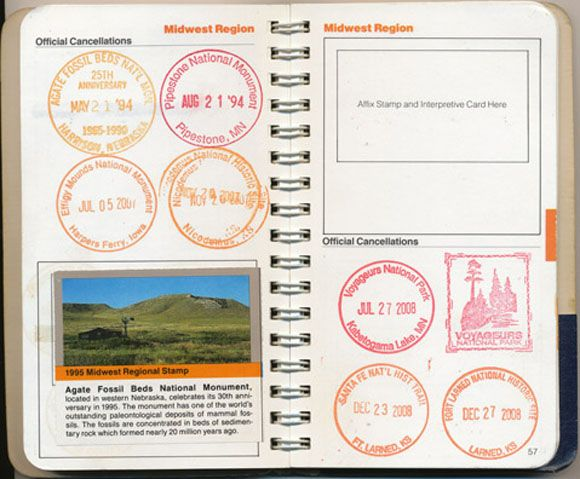 National Parks Passport.  Make sure to Visit Lassen Volcanic National Park in Northern California.  Only National Park with all 4 types of volcanoes.  Stay at a great B & B. St. Bernard Lodge 20 minutes from SW entrance of park. Check website for more information:  www.stbernardlodge.com