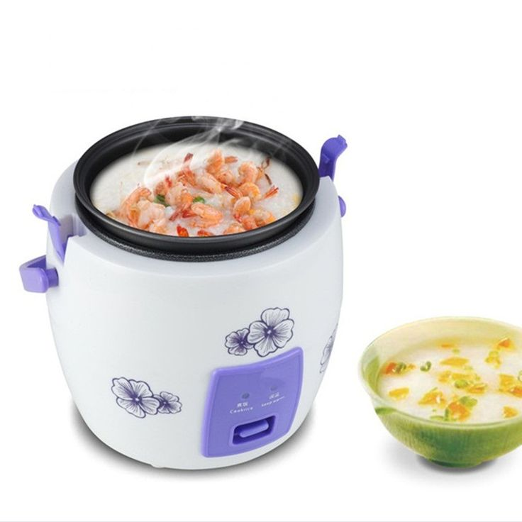 Multicooker Cooker Mini Electric Rice Cooker 220V-240V 200W 1-2 People Rice Cooking Small Electric Cooking Pot Travel Cooker