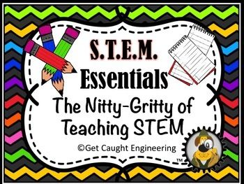 FREEBIE! Starting a STEM program in your class or school? The first step in implementing an engineering program is teaching your students the engineering design process. Our primer includes a simple explanation, the NGSS standards, and the design process poster.