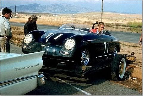 Steve McQueen's 1958 Porsche 356 Speedster