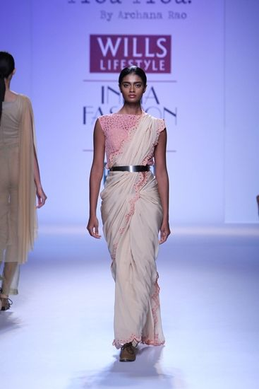 Archana Rao at Wills Lifestyle India Fashion Week A/W 2014 i think belt cn really wrkit