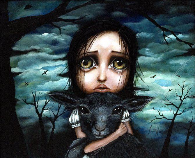 Clarice- Angelina Wrona painting