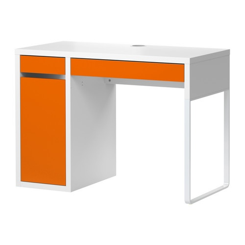 "Got this faboo desk for the little guy to have a ""big boy desk""- luckily it's not together yet, since he saw the pic and said, ""Yeah, what other colors does it come in."" Bummer. Back to IKEA!"