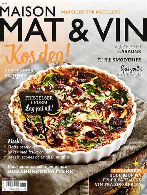 Maison Mat & Vin fra Bladkongen. Om denne nettbutikken: http://nettbutikknytt.no/bladkongen-no/