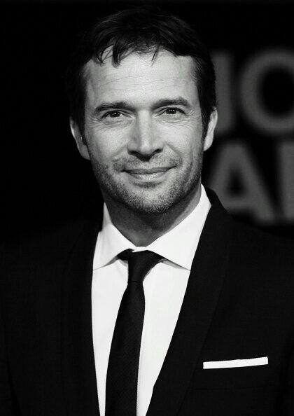 James Purefoy in black & white