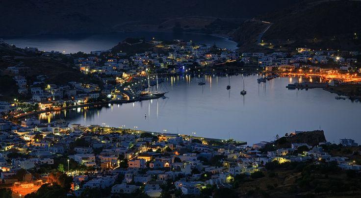 VISIT GREECE| #Patmos by night #visitgreece #greece