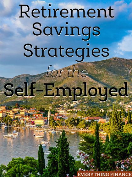 Prioritizing retirement savings when you're self-employed is difficult when you have fluctuating income levels. Here are a few strategies you can use!
