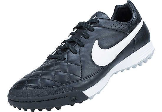 4c29b31aa1 Nike Tiempo Legacy Turf Soccer Cleats Black with White...shop now!