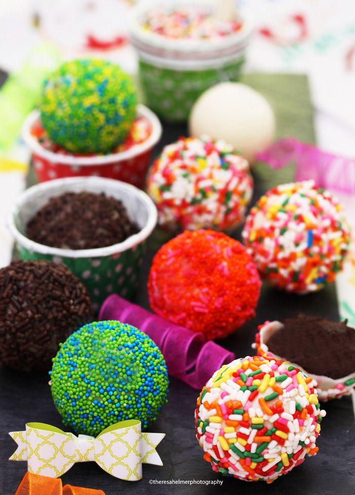 Fun Sprinkle White Chocolate Balls by theresahelmer on DeviantArt