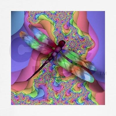 Rainbow Dragon Fly