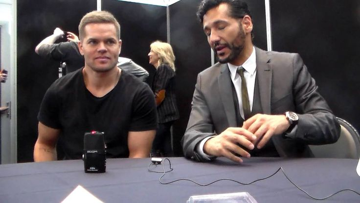 Press talk Wes Chatham & Cas Anvar chat little about filming The Expanse season 2 having with The Geekiary NYCC 2016.