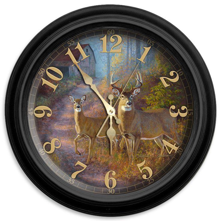 "Sunday Stroll 16"" Classic Wall Clock"