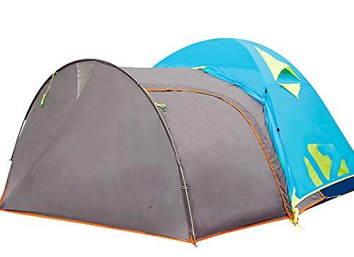 Generic Round Bulged 4 Person Tent Color Grey -- Be sure to check out this awesome product.