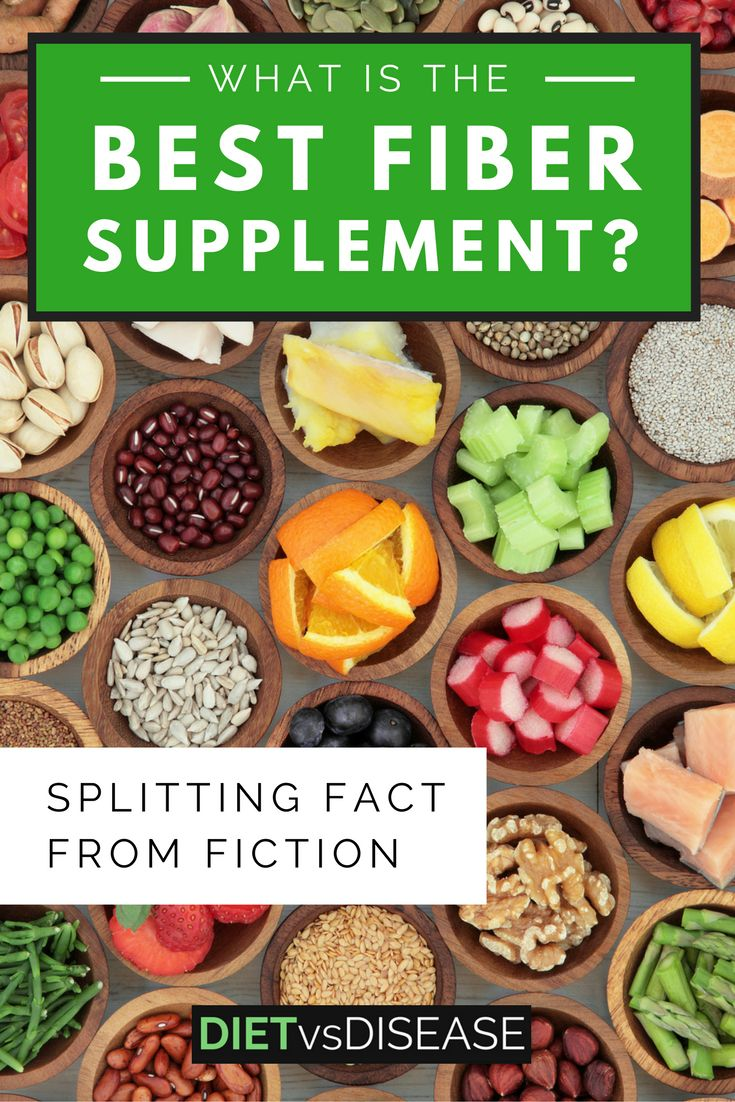 This article summarises the best fiber supplement available to you, based on current research. Learn more here: http://www.dietvsdisease.org/best-fiber-supplement/