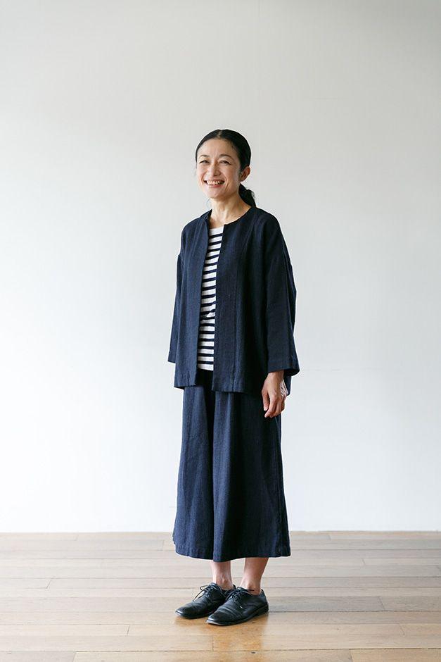 『FLW』デザイナー大橋利枝子さんに聞く冬のリネン、コーディネートのアイデアと着こなしのコツ:くらすこと