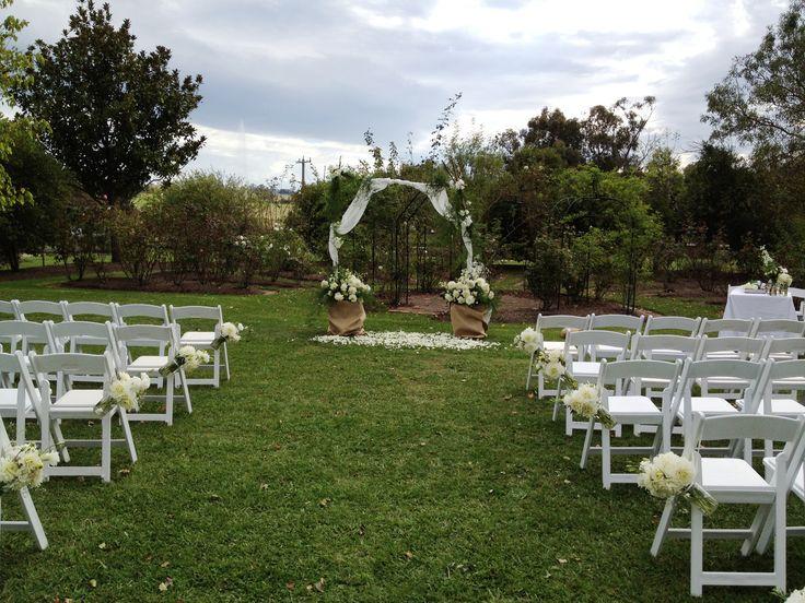 A rose garden wedding at Immerse