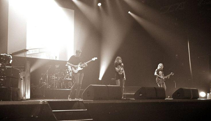 Blackout! Tijdens Tilburg Got Talent! 27 mei '14 in 013 op het grote podium.