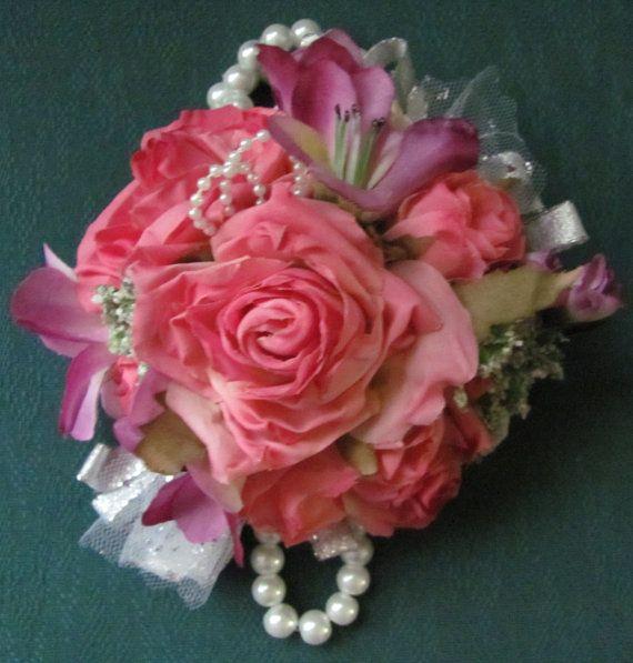 Wrist Corsage for Weddings and Proms by flowerfilledweddings