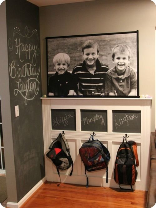 For Christmas 2013 for me. really big pic of boys for stair area