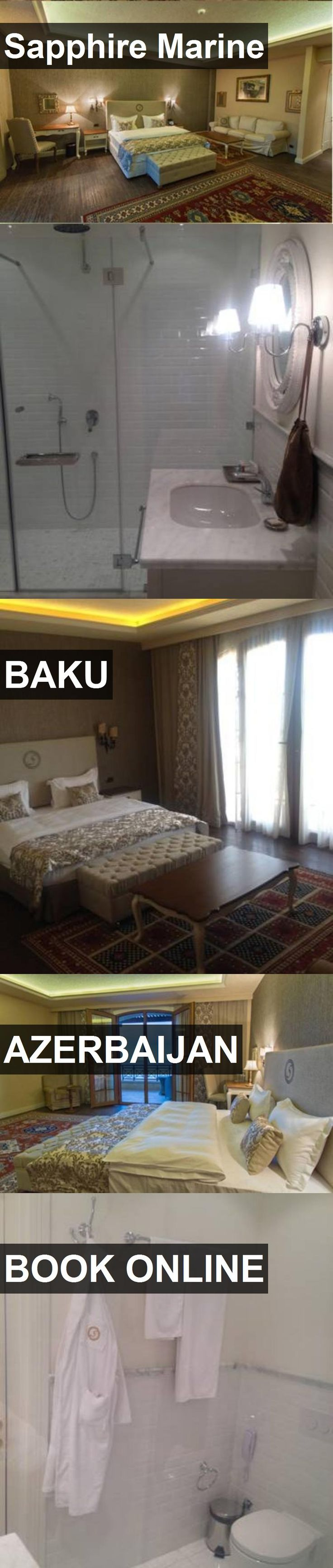 Hotel Sapphire Marine in Baku, Azerbaijan. For more information, photos, reviews and best prices please follow the link. #Azerbaijan #Baku #travel #vacation #hotel
