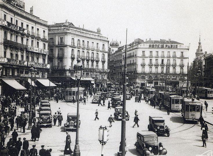 1935 Puerta del Sol