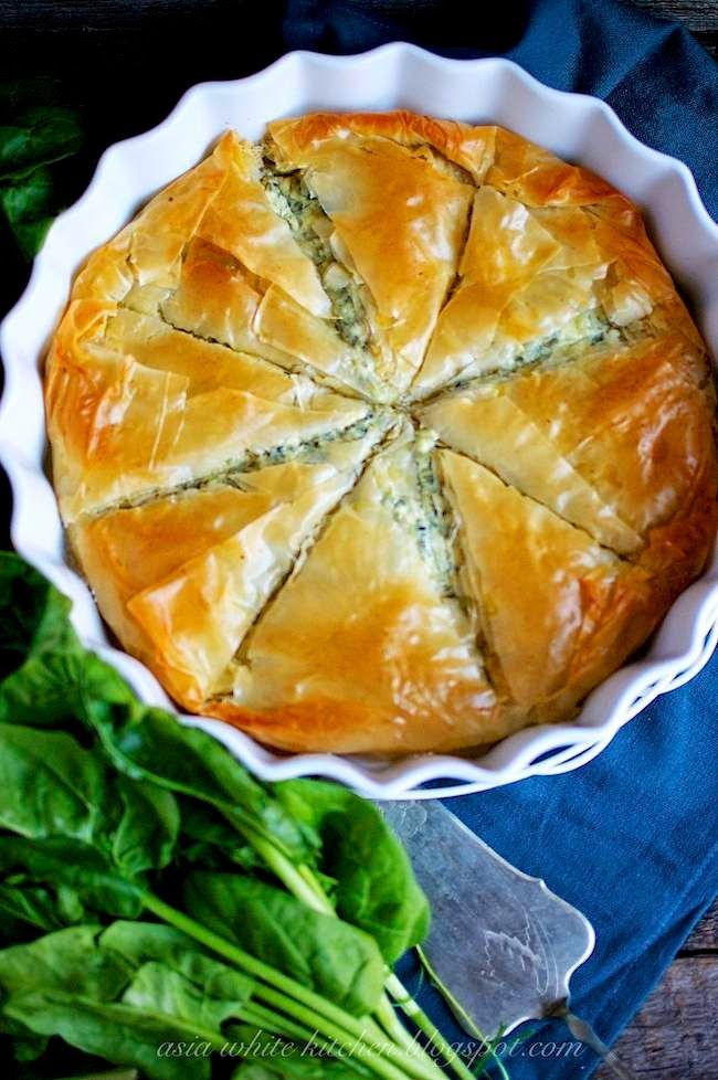 Asia's White Kitchen: Spanakopita