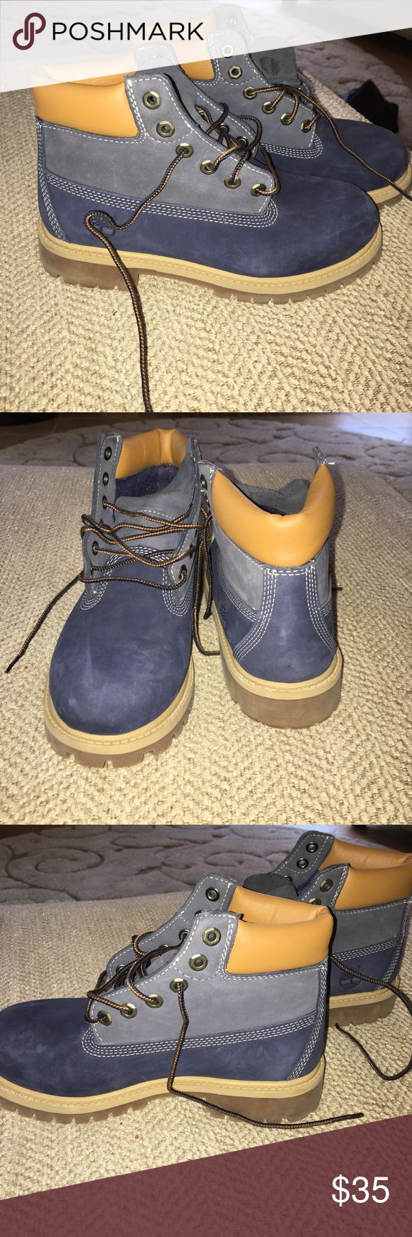 Boys timberland size 4, worn once. Only been worn once, great condition perfect for a young boy or girl. Size 4! Timberland Shoes Ankle Boots & Booties