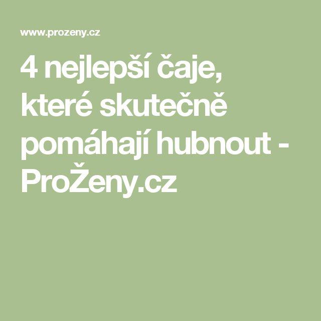 4 nejlepší čaje, které skutečně pomáhají hubnout - ProŽeny.cz