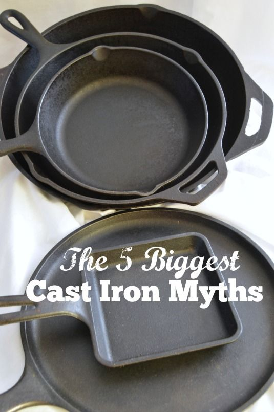 Using cast iron for your cooking is amazing! It creates the perfect crust on your food and seals the flavor in amazingly! If it...