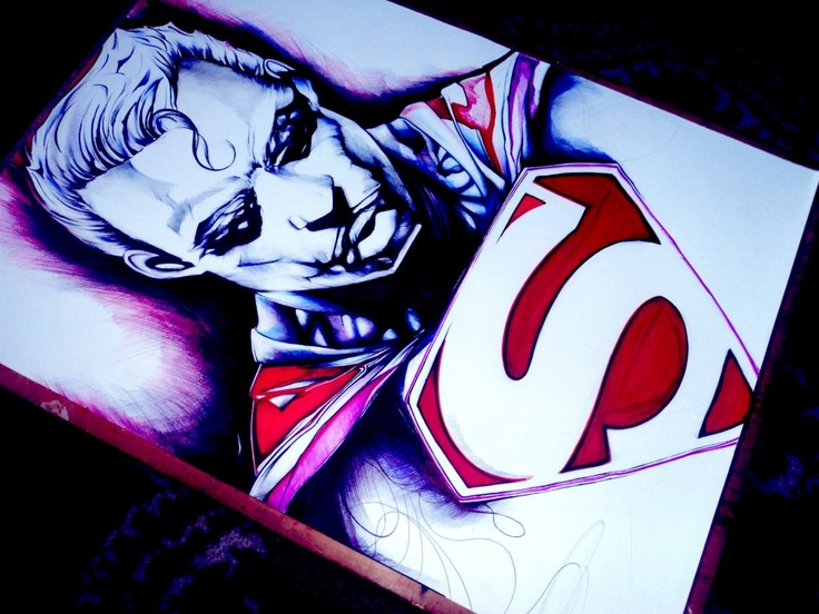 Superman Illustration.