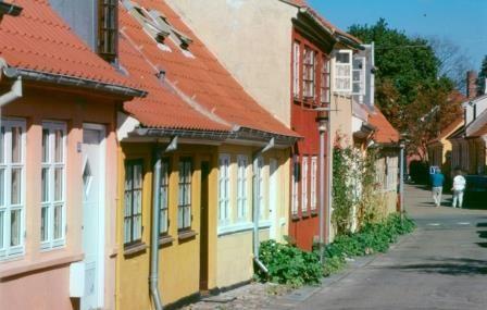 The small town of Rudkøbing - Pinned by Æblegaarden B&B, Langeland, Denmark, www.aeblegaarden.dk