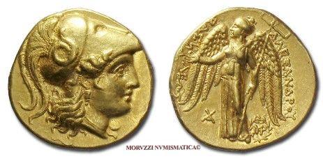monete di Alessandro Magno, statere d'oro di Alessandro Magno, stateri d'oro di Alessandro Magno, monete greche